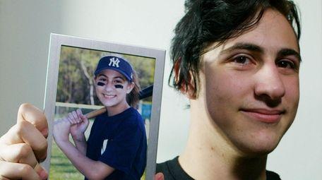 Alex Bacaris, 18, of Mount Sinai on April