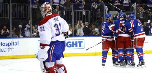 Mats Zuccarello #36 of the New York Rangers