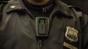 NYPD officers will begin wearing body cameras during