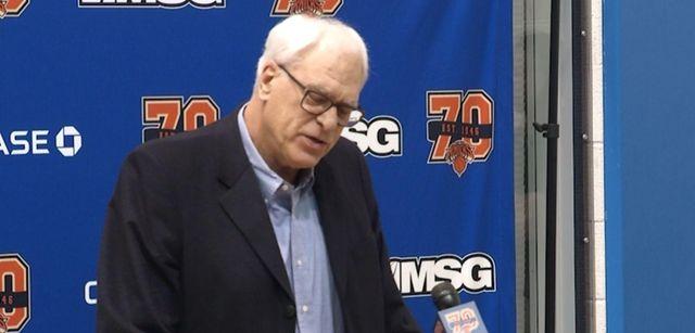 Knicks president Phil Jackson said All-Star forwardCarmelo Anthony