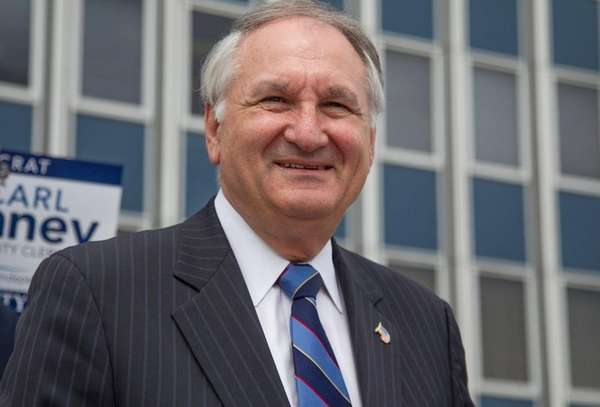 Nassau Comptroller George Maragos is expected to announce