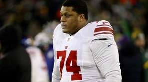 Left tackle Ereck Flowers of the New York