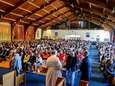 Parishoners attend a Latino Community Forum at the