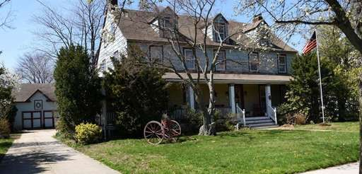 The Denton Homestead in East Rockaway on April