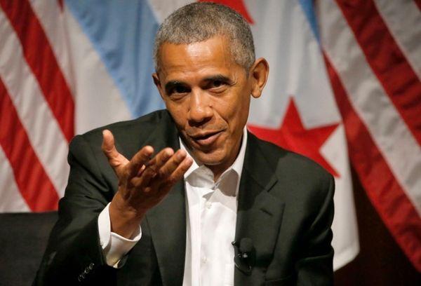 Former President Barack Obama hosts a conversation on