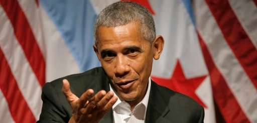 Former President Barack Obama hosts a conversation on
