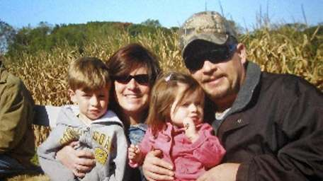 A family photo shows Diane and Danny Schuler
