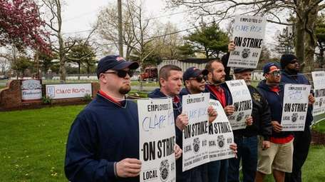 Workers from Local 812, who deliver, sell, and