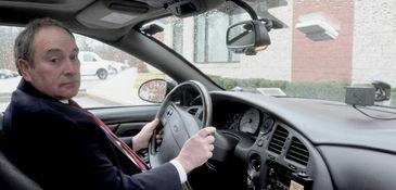 John Ruocco, inventor of Interceptor Ignition Interlock, demonstrates