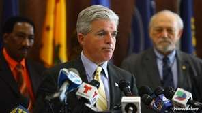 Suffolk County Executive Steve Bellone said the county
