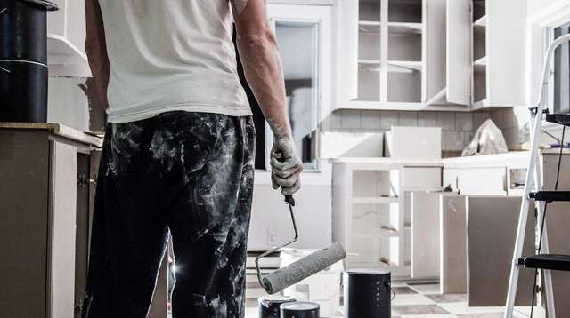While painting may not be easy or cheap,