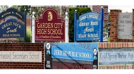 Seven Long Island public high schools that ranked