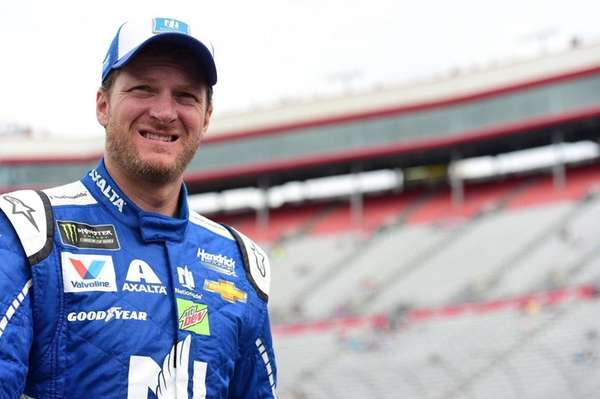 Dale Earnhardt Jr., driver of the #88 Nationwide