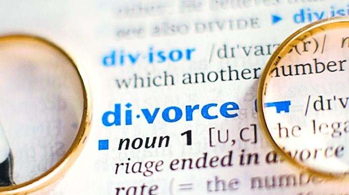 The U.S. divorce rate has doubled for people