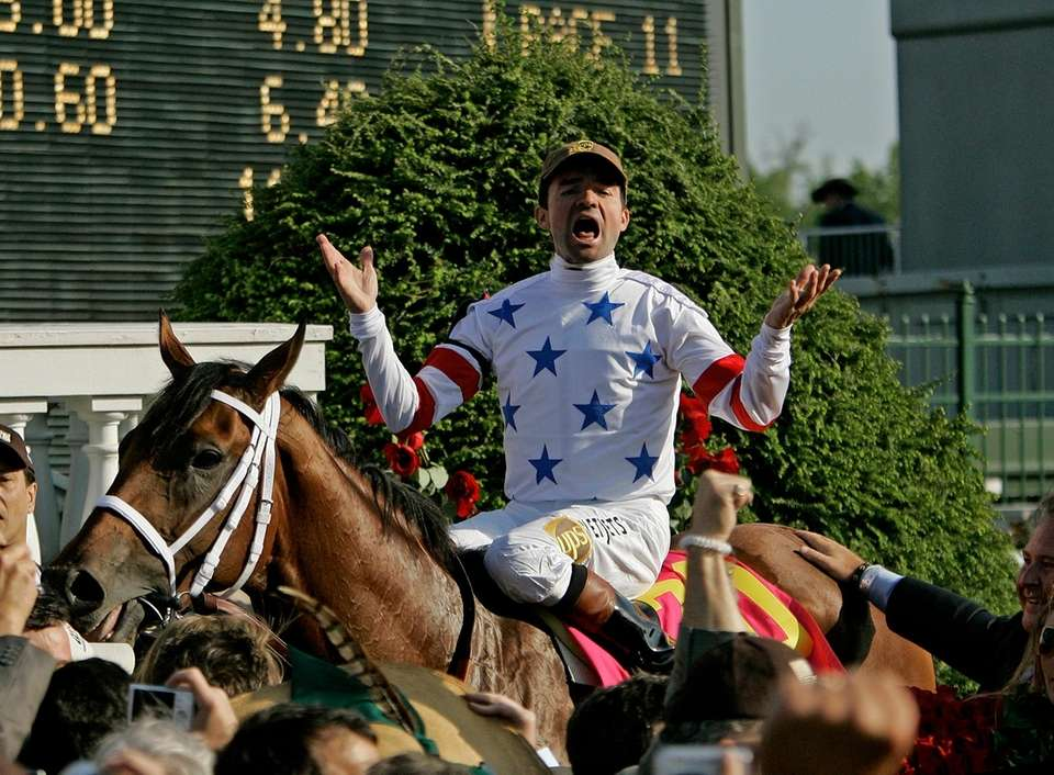 Kentucky Derby wins: 3 Horses ridden: Real Quiet