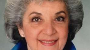 Rita Newborn, co-founder of the Plainview Jewish Center,
