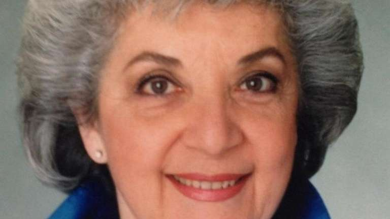 Rita Newborn, co-founder of the Plainview Jewish Center,