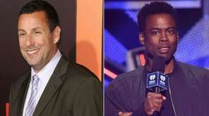 Adam Sandler and Chris Rock will be on