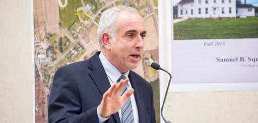 In his second State of the Town address
