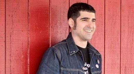 Pete Mancini, lead singer of Bellerose-based Butchers Blind,
