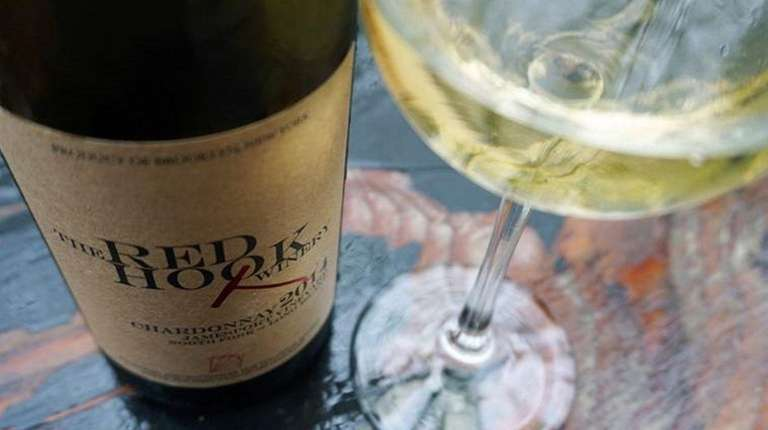 The 2014 chardonnay from Brooklyn's Red Hook Winery