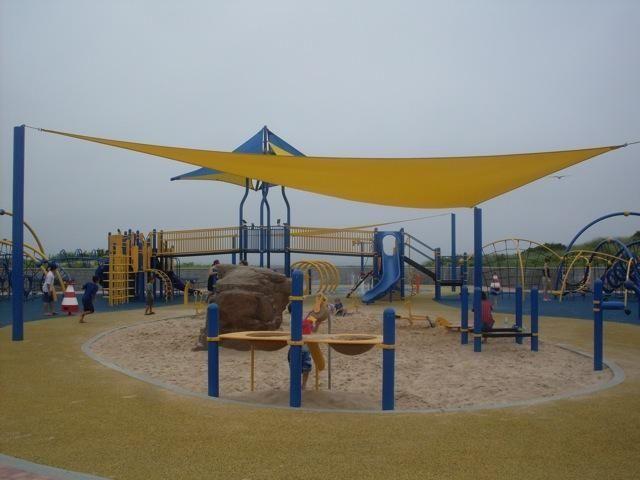 Playground at Tobay Beach.
