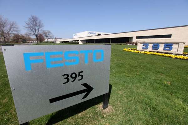 Festo Corp.'s U.S. headquarters is pictured in Hauppauge,