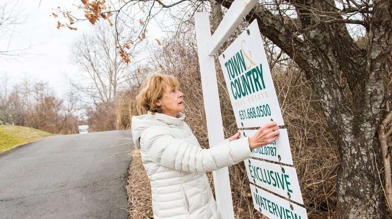 Kathleen Beckman, a real estate agent with Town