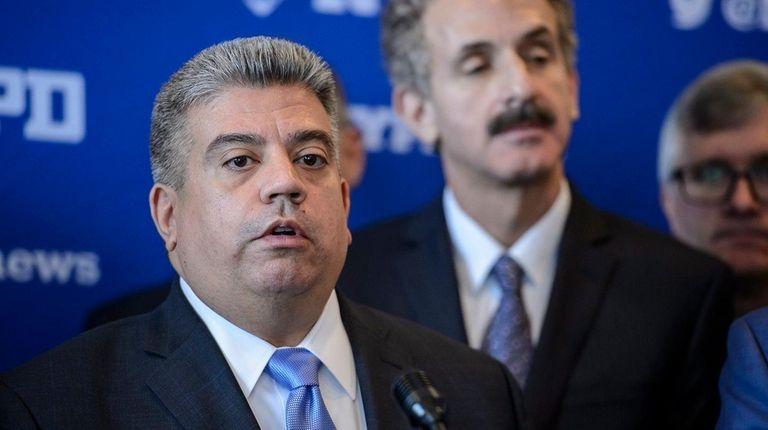 Eric Gonzalez, acting Brooklyn district attorney, seen here