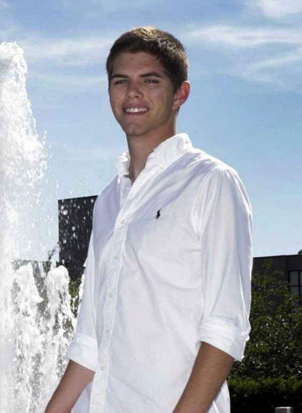 Edward Schmidt, 24, was accused of misspending at