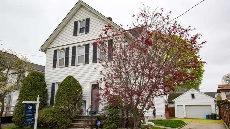 A home for sale on Wednesday, April 26,