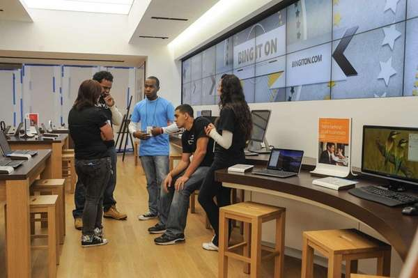 Two Microsoft Store locations on Long Island, including