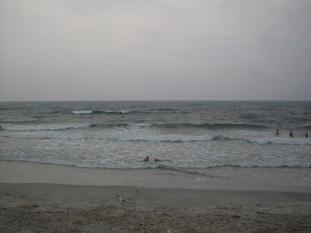 The ocean at Tobay Beach.