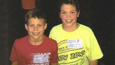 Kidsday reporters Anthony Traube and James Krauss of