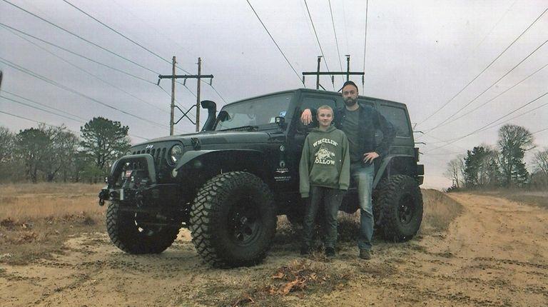 Kidsday reporter Dylan Bailey and dad Robert Bailey