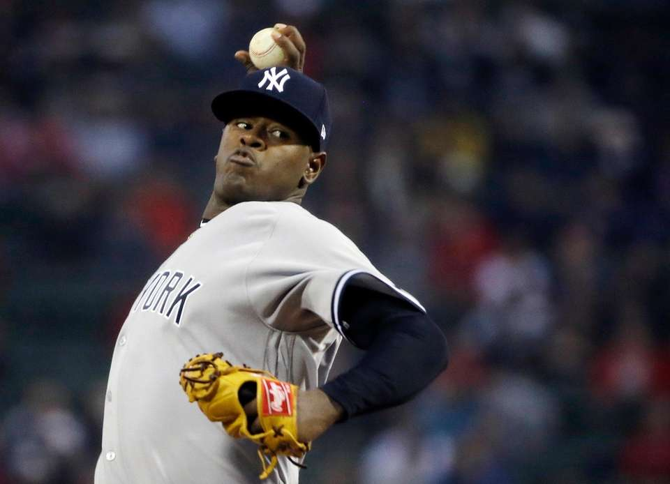 Severino, at 23, emerged as the young pitching
