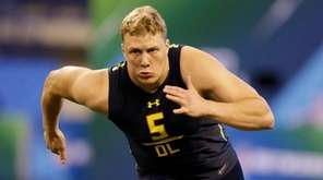 The Giants have scouted Utah tackle Garett Bolles,