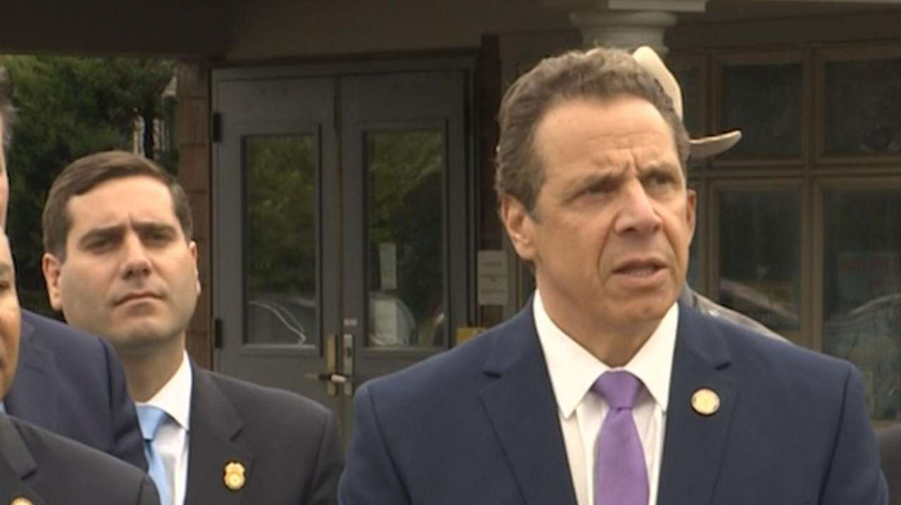 Gov. Andrew M. Cuomo announced on Wednesday, April
