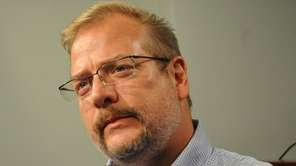 Jets general manager Mike Maccagnan during his pre-draft