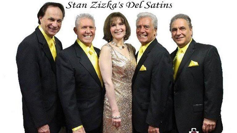 Today's Del Satins: Charles Aiello, left, Tom Ferrara,