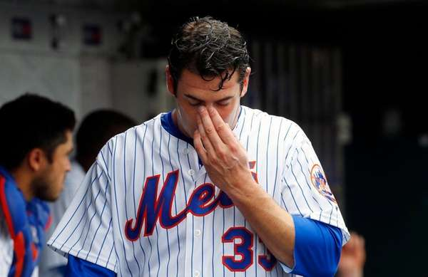 Matt Harvey #33 of the New York Mets