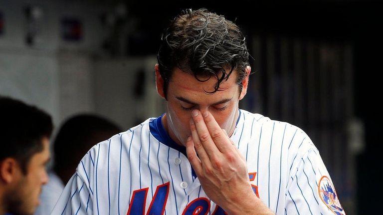 Matt Harvey #33 of the New York Mets