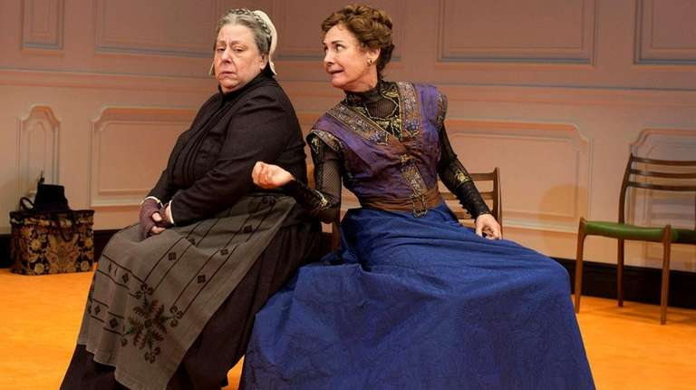 Jayne Houdyshell as the servant Anne Marie and