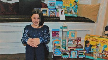 Kidsday reporter Kierstin McNamara of Centereach with the
