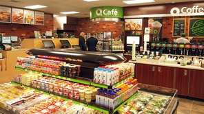 The interior of a QuickChek convenience store is