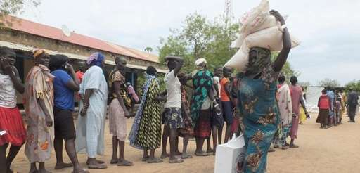 The threat of famine, including in South Sudan,