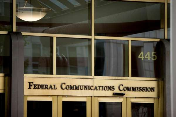 The Federal Communications Commission building in Washington
