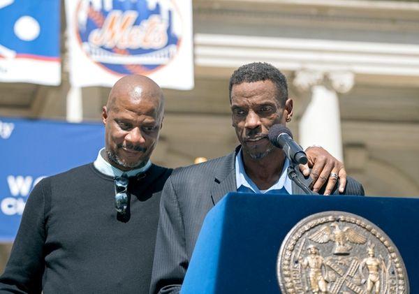 Former New York Mets pitcher Dwight 'Doc' Gooden,