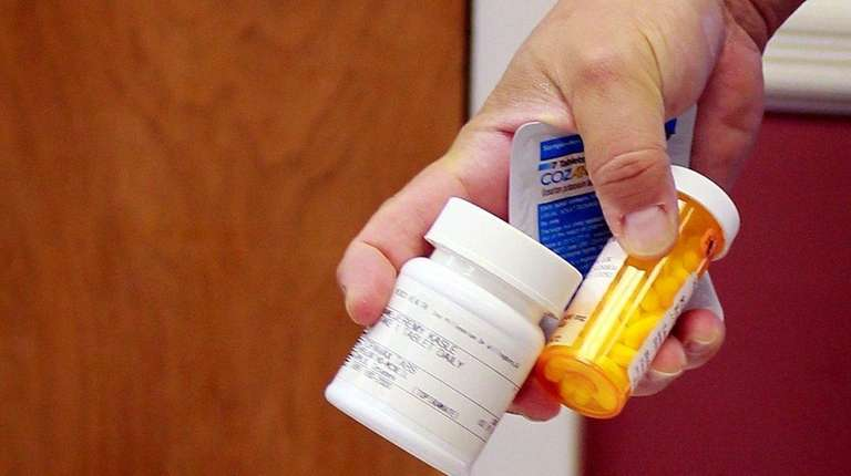 Local residents drop off unused prescription drugs on