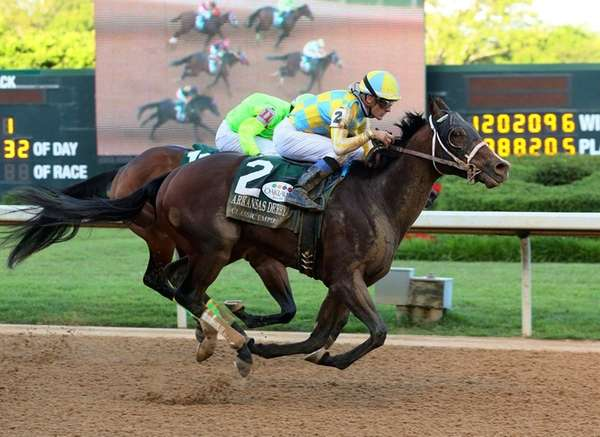 In a photo provided by Oaklawn Park, Classic